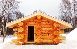 Баня из кедра