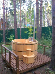 бассейн бочка для купания с подогревом