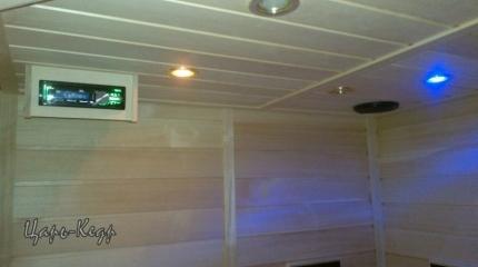 Инфракрасная сауна 2-х местная. Керамические излучатели