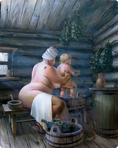 Голые деревенские тетки фото